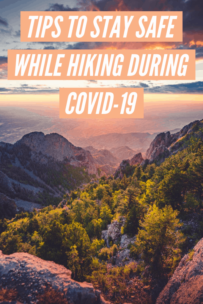 hiking safety during covid-19