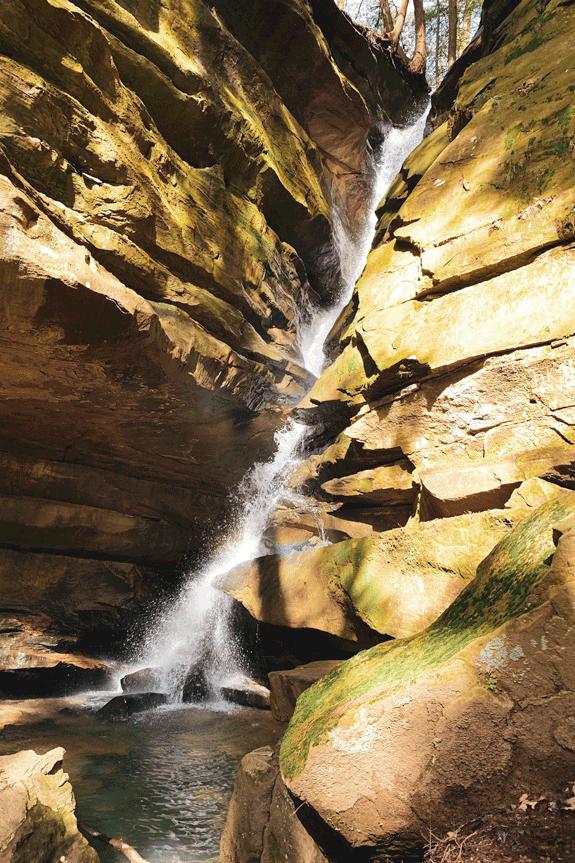 brocken rock falls old mans cave