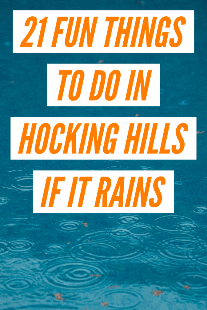 hocking hills things to do in rain