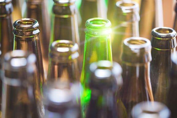 remove beer bottle labels