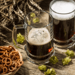 bock beer and hops